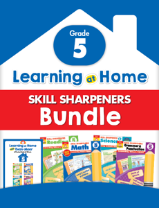 Learning At Home Skill Sharpeners Bundle, Grade 5