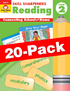 Skill Sharpeners: Reading, Grade 2 — Class pack