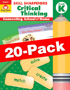 Skill Sharpeners: Critical Thinking, Grade K — Class pack