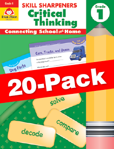 Skill Sharpeners: Critical Thinking, Grade 1 — Class pack