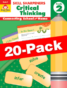 Skill Sharpeners: Critical Thinking, Grade 2 — Class pack