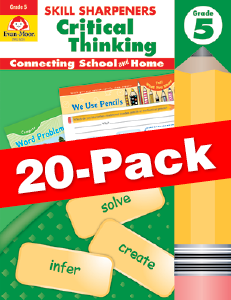 Skill Sharpeners: Critical Thinking, Grade 5 — Class pack