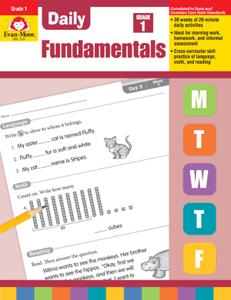 Picture of Daily Fundamentals, Grade 1 - Teacher's Edition, E-book