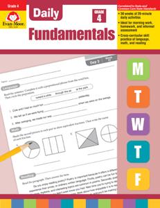 Picture of Daily Fundamentals, Grade 4 - Teacher's Edition, E-book