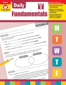 Picture of Daily Fundamentals, Grade 5 - Teacher's Edition, E-book