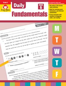 Picture of Daily Fundamentals, Grade 6 - Teacher's Edition, E-book