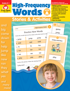 Picture of High-Frequency Words: Stories & Activities, Grades K-1 (Level A) Enhanced E-book