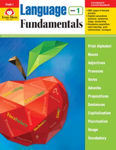 Picture of Language Fundamentals, Grade 1 - Teacher Reproducibles, E-book
