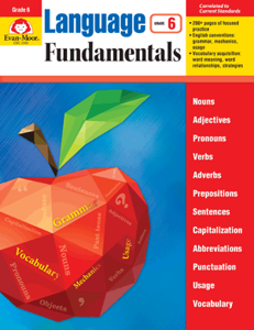 Picture of Language Fundamentals, Grade 6 - Teacher Reproducibles, E-book