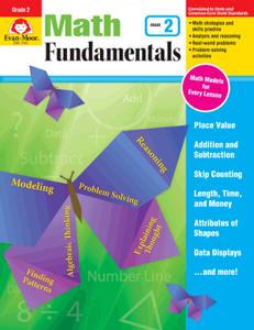 Picture of Math Fundamentals, Grade 2 - Teacher Reproducibles, E-book