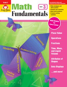 Picture of Math Fundamentals, Grade 3 - Teacher Reproducibles, E-book