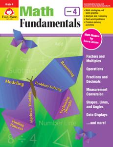 Picture of Math Fundamentals, Grade 4 - Teacher Reproducibles, E-book
