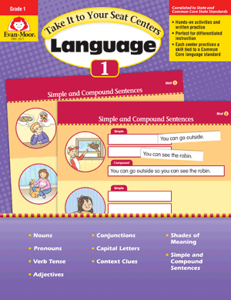 Picture of Take It to Your Seat: Language Centers, Grade 1 - E-book