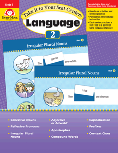 Picture of Take It to Your Seat: Language Centers, Grade 2 - E-book