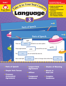 Picture of Take It to Your Seat: Language Centers, Grade 3 - E-book