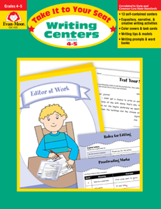 Picture of Take It To Your Seat: Writing Centers, Grades 4-5 Enhanced E-book