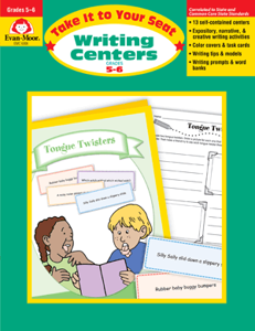 Picture of Take It To Your Seat: Writing Centers, Grades 5-6 Enhanced E-book