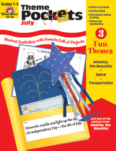 Picture of Theme Pockets, July, Grades 1-3 – Teacher Resource, E-book