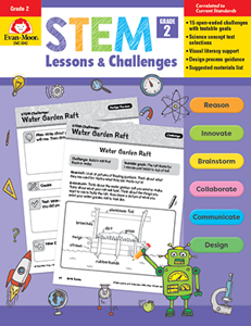 STEM Lessons and Challenges, Grade 2 - Teacher Reproducibles, Print