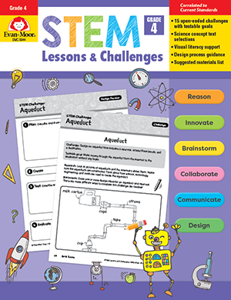 STEM Lessons and Challenges, Grade 4 - Teacher Reproducibles, Print