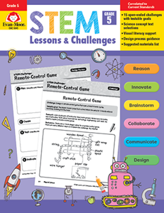 STEM Lessons and Challenges, Grade 5 - Teacher Reproducibles, Print