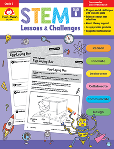STEM Lessons and Challenges, Grade 6 - Teacher Reproducibles, Print