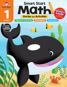 Smart Start: Math Stories and Activities, Grade 1