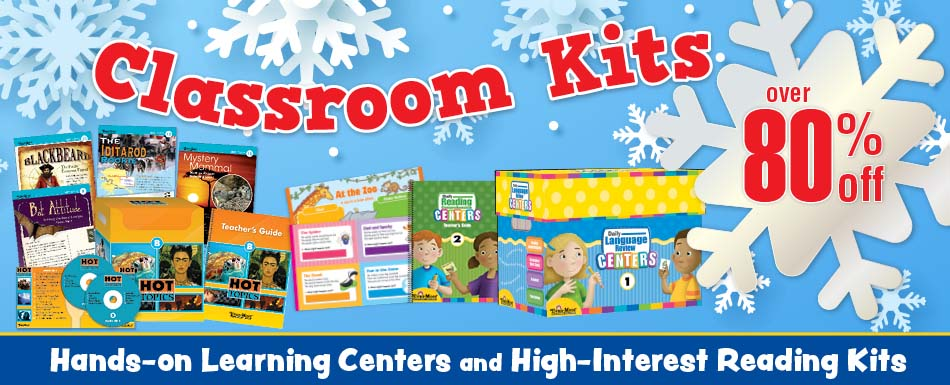 Classroom Kits over 80% off