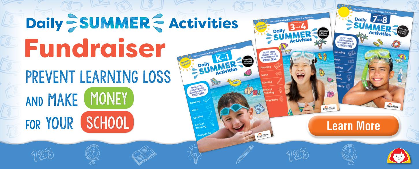 School Daily Summer Activity Fundraiser