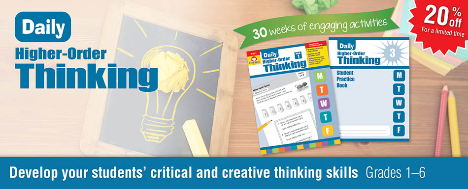 20% Daily Higher-Order Thinking