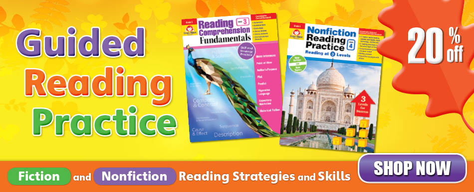 20% guided reading practice titles